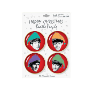 Beatles Holiday Pin Set