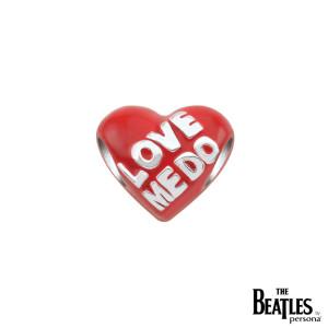 Beatles Red Heart Bead