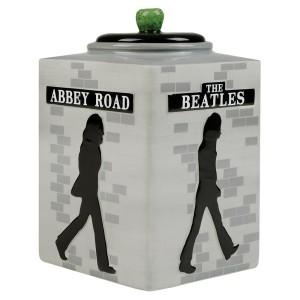 Abbey Road Silhouette Cookie Jar