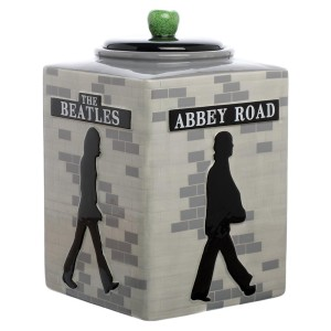 Abbey Road Silhouette Cookie Jar