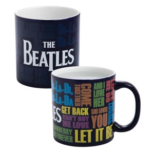 The Beatles Logo 20 oz. Heat Change Mug