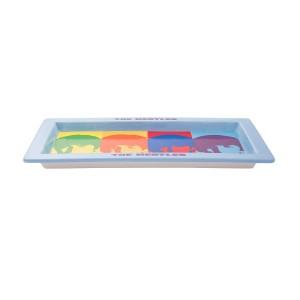 Color Bar 16 in. Serving Platter