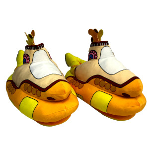 Yellow Submarine Plush Slippers