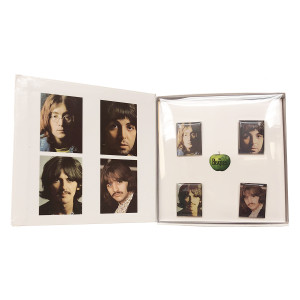 White Album Pin Set
