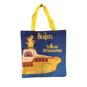 Yellow Submarine Tote Bag (Blue)