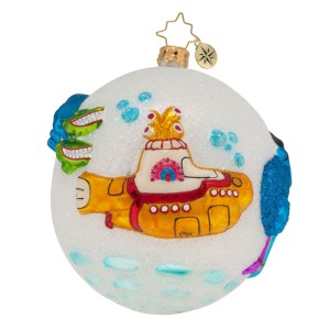 Protecting Pepperland with Love Ornament