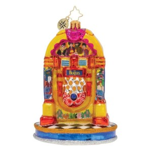 Pepperland Yellow Submarine Juke Box Ornament