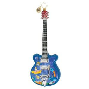 Strumming Away in Pepperland Ornament