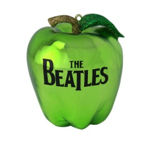 The Beatles Apple Ornament