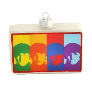 The Beatles Color Bar Ornament