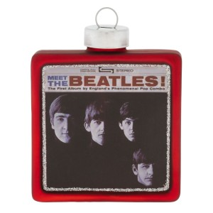 Meet The Beatles Album Cover Ornament