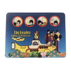 Yellow Submarine Characters Mousepad