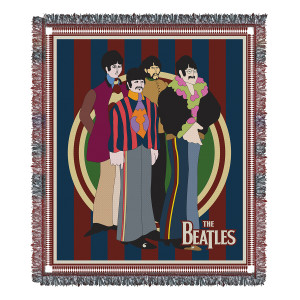 Yellow Submarine Woven Blanket