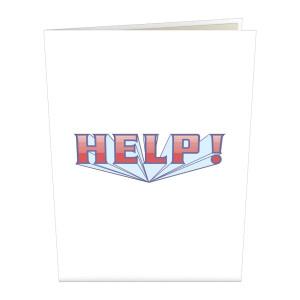 Help! LovePop Card