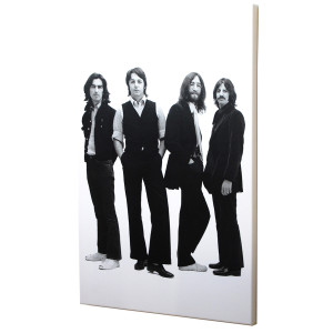 1968 Beatles Black & White Print