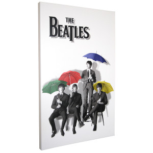 Beatles Color Umbrellas Print