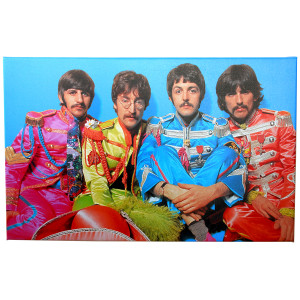Beatles Sgt. Pepper Print