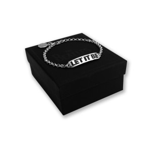 Let It Be Women's ID Bracelet