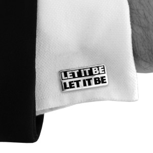 Let It Be Cufflinks