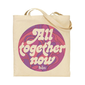 All Together Now Text Tote