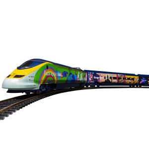 Eurostar 'Yellow Submarine' Train Pack (No Track)