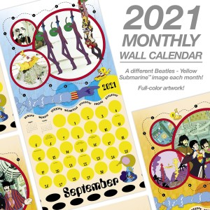 Yellow Submarine 2021 Calendar Set