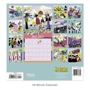 Yellow Submarine 2021 Wall Calendar