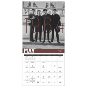 The Beatles 2021 Mini Wall Calendar