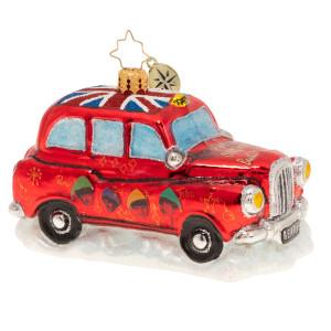 Happy Christmas Hackney Cab