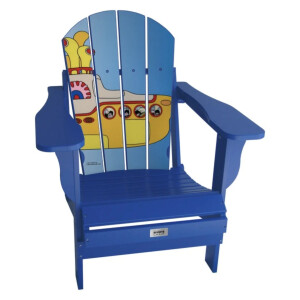 Yellow Submarine Adult Folding Adirondack Chair