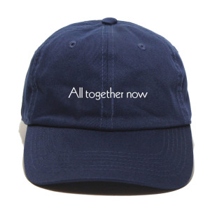 All Together Now Adjustable Hat