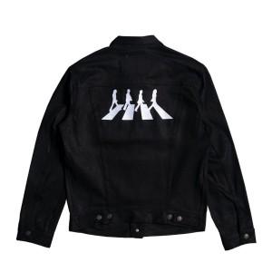 Abbey Road Black Levi's Denim Jacket