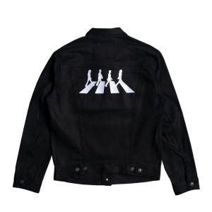 Abbey Road Black Levi's Denim Jacket