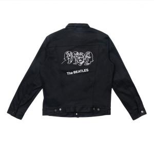 The Beatles (White Album) Black Levi's Denim Jacket