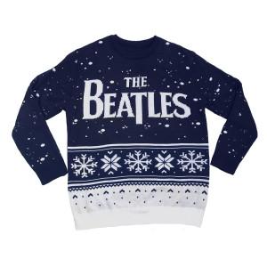 Snowflake Holiday Jacquard Knit Sweater