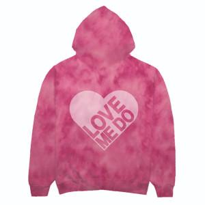 Love Me Do Tie-Dye Hoodie