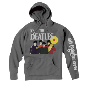 All Together Now Cartoon Hoodie