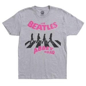 Abbey Road Pink Logo T-Shirt