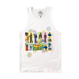 Yellow Submarine 50th Anniversary White Tank Top