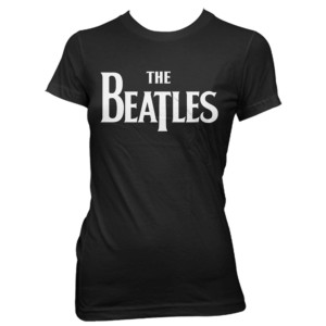 The Beatles Classic Black Women's T-Shirt