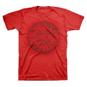 Sgt. Pepper Logo Red T-Shirt