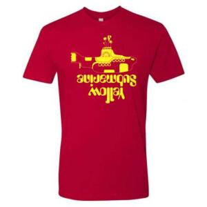 Yellow Sub Crew Cuts T-Shirt