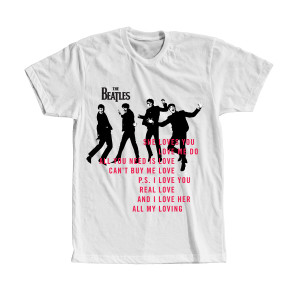 She Loves You Lyric T-Shirt