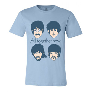 All Together Now Faces Tee