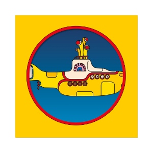 "Limited Edition Yellow Submarine 50th Anniversary 7"" Picture Disc"