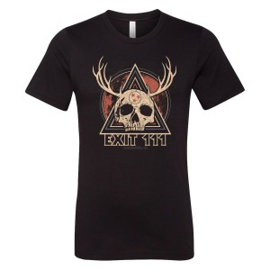 Horned Skull Moon Event Tee
