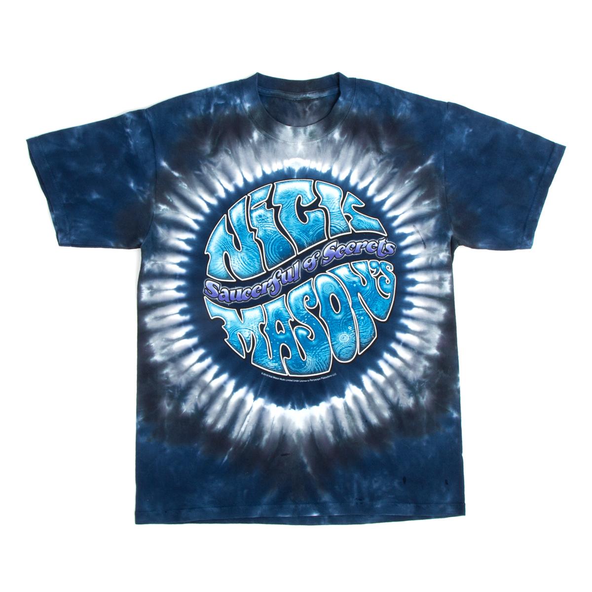 Saucerful Of Secrets 2019 Tour Tie Dye Dateback T-Shirt