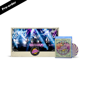 Nick Mason's Saucerful of Secrets Live At The Roundhouse Blu-ray + Limited Edition Signed Poster