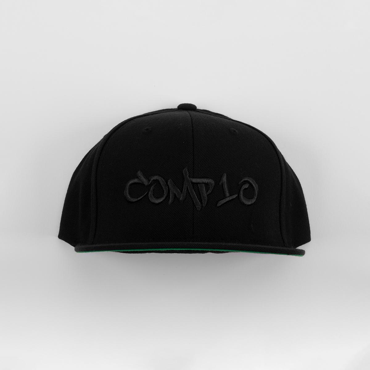 COMP10 Snapback (Black/Black)