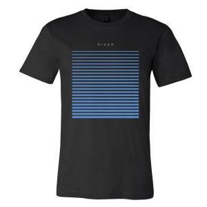 River T-Shirt - Black